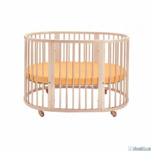 Кроватки: Stokke Sleepi bed and mattress